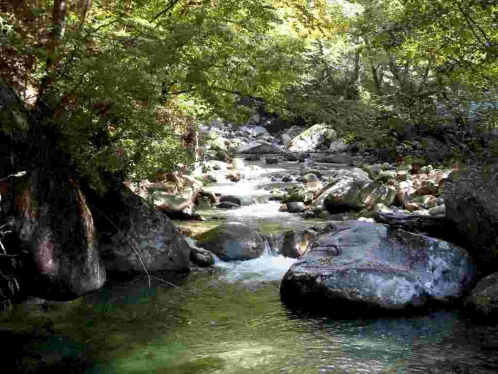Corre verso il fiume